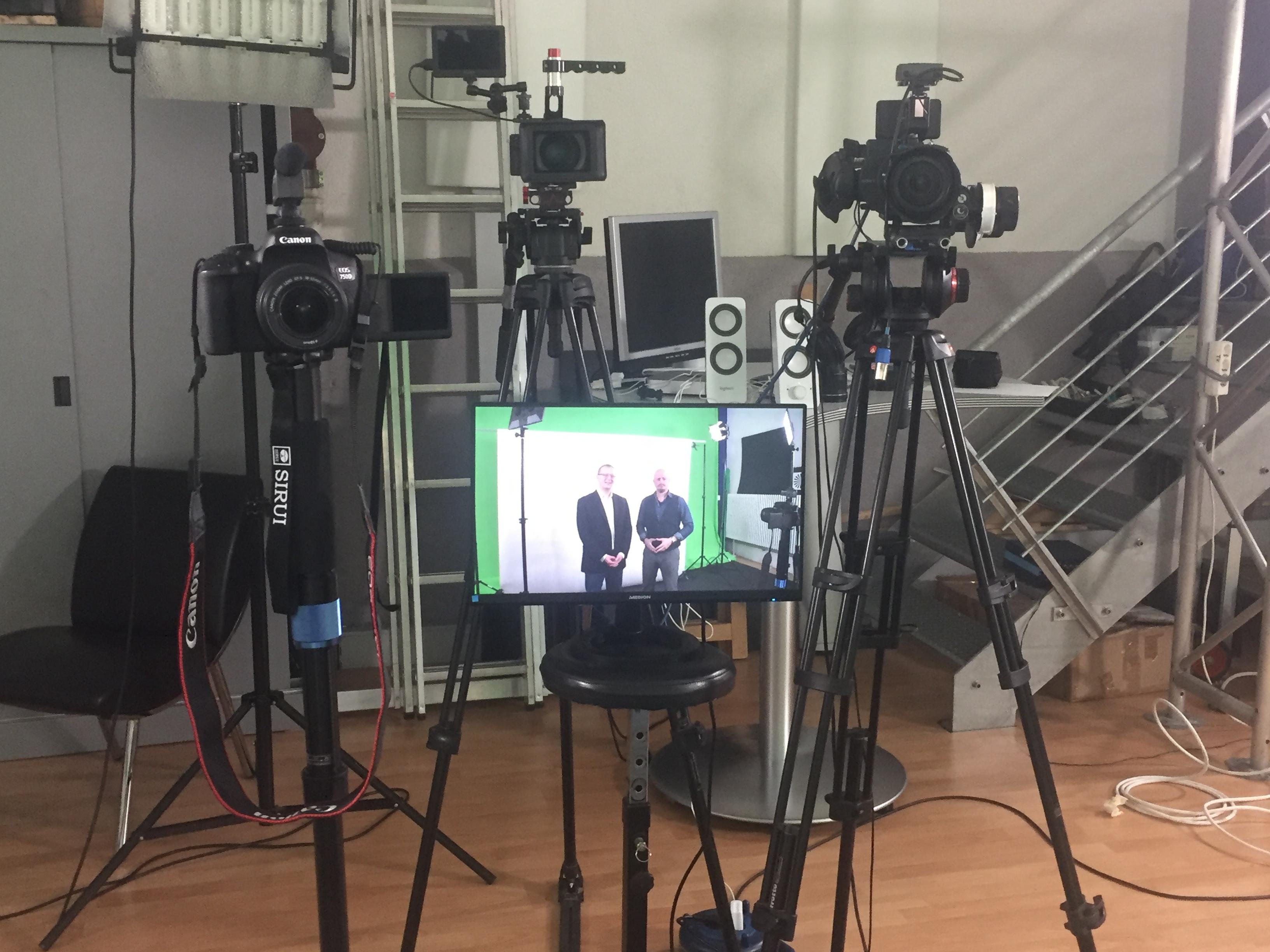 Greenbox Greenscreen TV-Studio Offenburg Filmproduktion Thomas Klatt Images