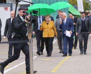 Merkel Herrenknecht Besuch Schwanau Filmproduktion Thomas Klatt